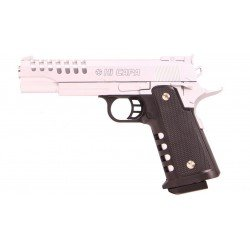 Plan Beta Pistolet Heavy Metal Hi-Capa Silver Spring The Equalizers