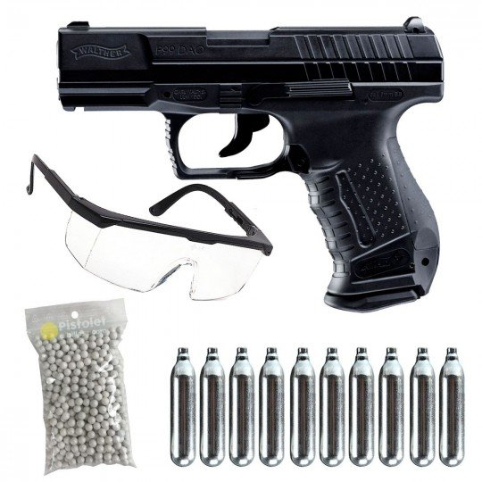 """Pack P99 DAO C02 Walther Umarex """"Ready"""""""