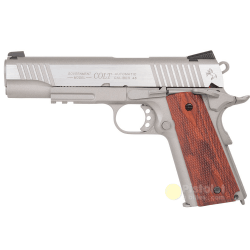 Colt 1911 Rail Gun Stainless Co2 Cybergun 180530 reconditioned