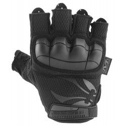 Mitaines BO MTO FIGHTER Black by Mechanix M-pact fingerless M