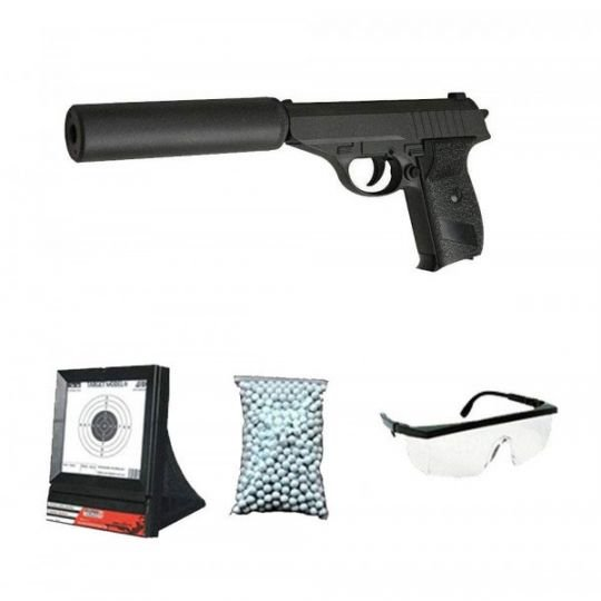 G3A Gift Pack w / Silencer + Scope + Marbles + Target Net (Galaxy)