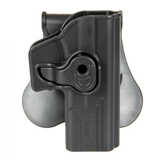 CQC Glock Right Handed Tactical Holster - Black - Amomax®