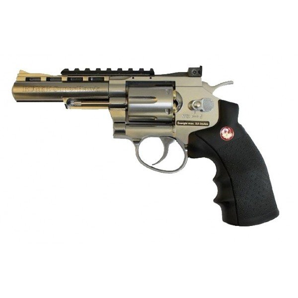 Ruger Super Hawk 4 Zoll Chrom CO2