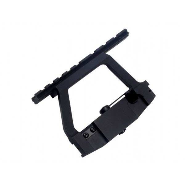 Quick release upper mounting rail for AK47