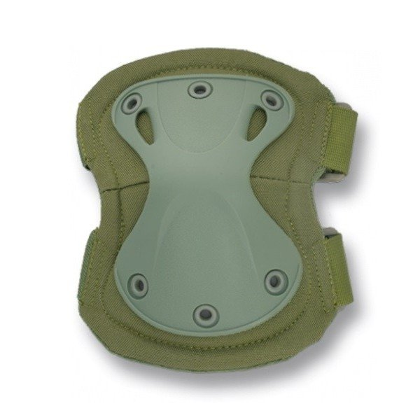 OD barbaric olive green elbow pads