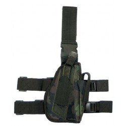 Czech camouflage right-handed thigh holster M95cz MFH