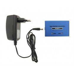 Blue Lipo battery charger 7.4 and 11.1 v