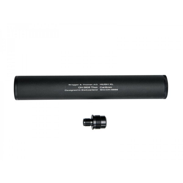 Silencer with adapter for Aw308 and compatible