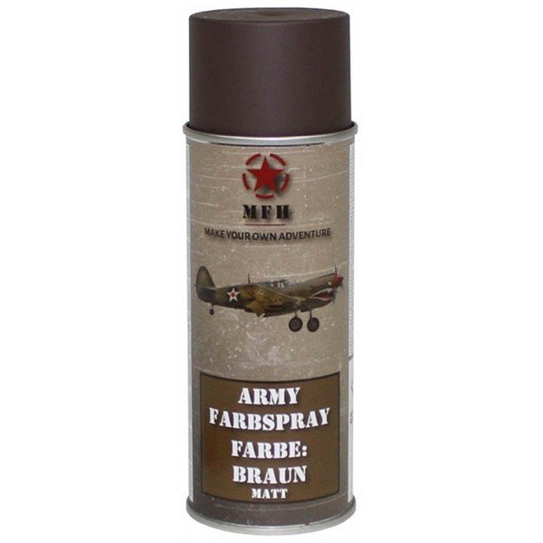 Matte Brown Army Paint Mud special airsoft camouflage 400ml 27375g