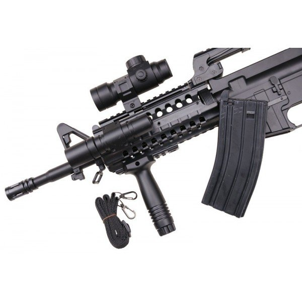 MR 733 style M4-S Spring loaded system